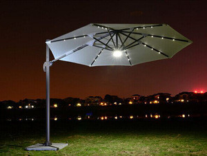 Garden Umbrella Patio Umbrellas with Lights Umbrella with Base