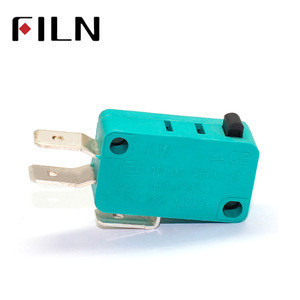 High quality Limit Switch 6.3 connector terminal 1no nc All New 5A 250VAC green Micro Switch