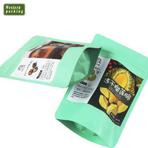 Large Aluminum laminated foil Stand up Retort Pouch bag for meat,pork,beef,sea food, snacks
