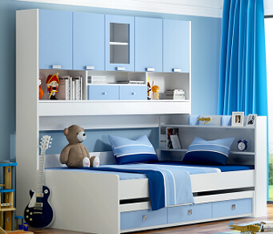 Multi-functional childrens bunk beds,kid bed