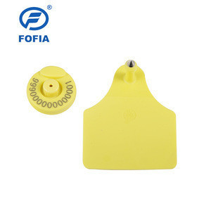 New Products RFID Logo Printed UHF Animal ear Tag for Cattle  Management