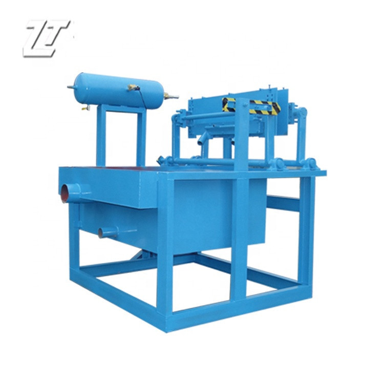 Paper Pulp Shoe Tree Production Line With Hot Pressing Machine Egg Tray Making Machine Price