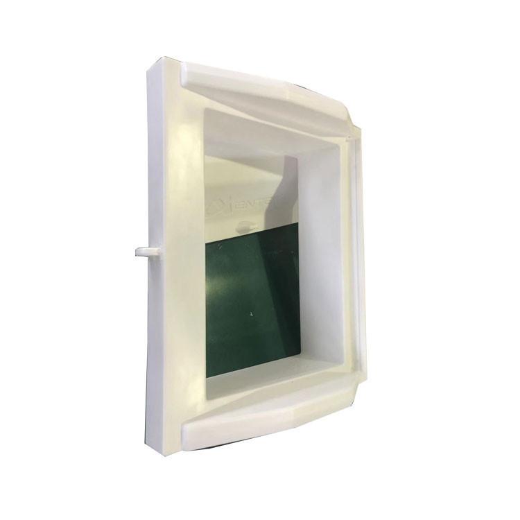 Plastic air inlet