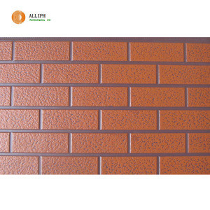 Polyurethane foam sandwich panel for wall decoration and insulation