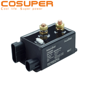 Smart car auto battery management parts 12v multi dual battery isolator switch 160A for battery