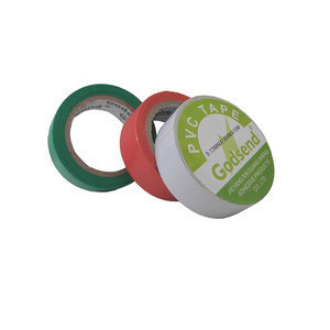 White blue green electrical tape