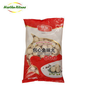 Wholesale hot sale frozen fish ball with filling seafood product