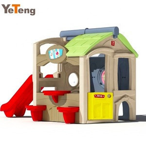 Wholesale outdoor cheap plastic playhouse for kids