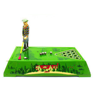 Wind Up Toy Golf Practice Tin Game Augusta 1930 Shop Decoration Ideas