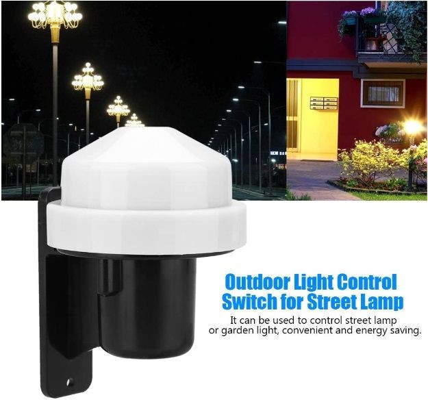 Dusk to Dawn Sensor Photoelectric Switch Photocell Sensor Electronic Photo Control Kit for Outdoor Light