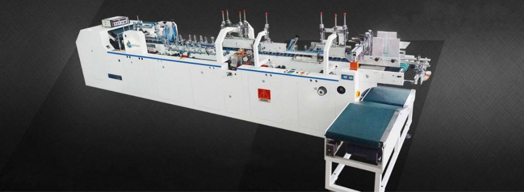 Multi Types Carton Folding & Gluing Machine