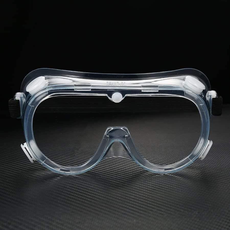 Safety anti-fog goggles