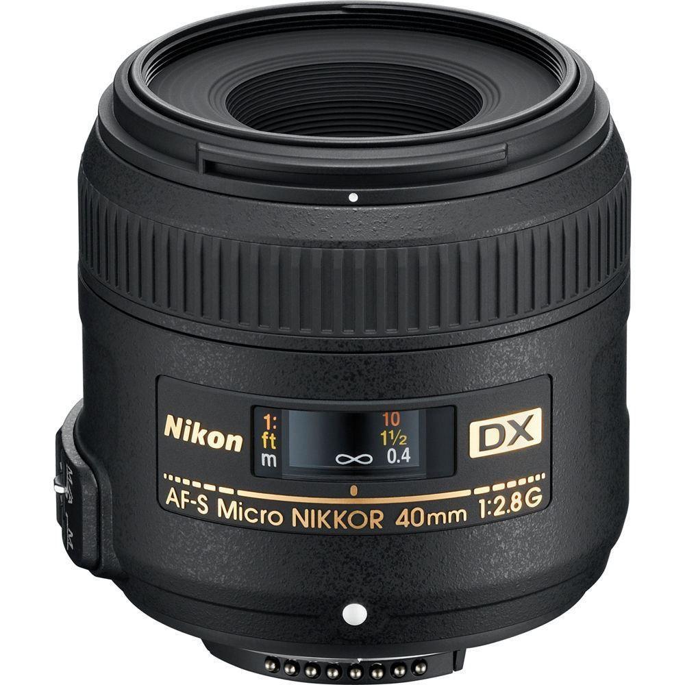 Nikon AF-S DX Micro 40mm F/2.8G macro lens