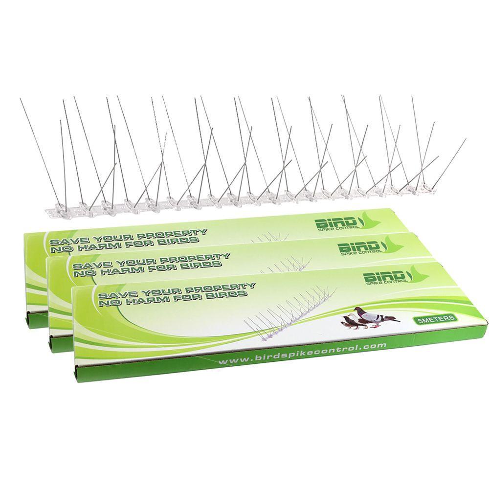 Hot Sale 5M Long Plastic pigeon control spikes anti bird spikes
