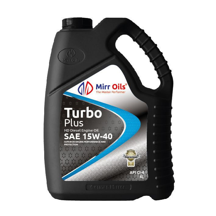 MIRR TURBO PLUS DIESEL ENGINE OIL API CI-4/SL SAE 15W-40