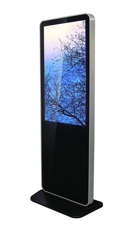 Video advertising self service kiosk floor standing ad display digital signage