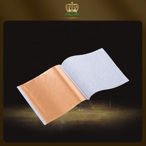 2020 hot sale product Taiwan gold leaf sheets 14*14cm for house/furniture/craft  decoration