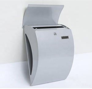 Apartment home stainless steel mailboxes