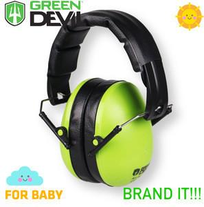 Baby earmuffs folding ear protection CE stnadard EN 352