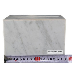 Beautiful carrara white marble bathroom accessories