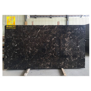 Black marble tile, marble stone, good dark emperador