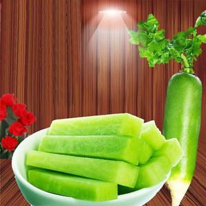 Chinese Grade A Fresh Organic Green Radish