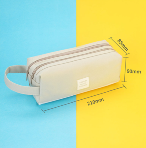 Custom Case Pencil Bag  Cute  Custom Logo with Ex-factory Price Color Pencil Bag