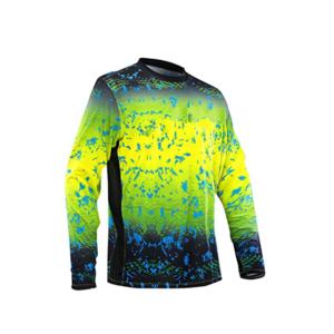 Custom Uv Fishing Shirt Hoodies Digital Logo Print Fishing Wear