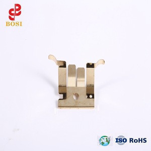 Customized metal electronic gold-plated contact/shrapnel/clip