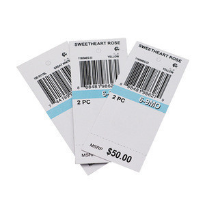 Customized Personalized Garment Paper Hang Tags