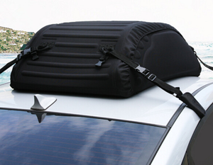 Durable travelling car suv roof top luggage storage bag XPE waterproof cargo carrier bag