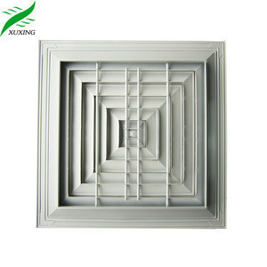Havc air conditioning ceiling commercial square diffuser