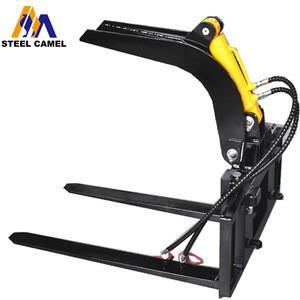 heavy duty mini excavator parts hydraulic grapple fork