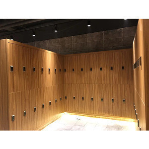 Hight quality Customized Wooden Combination Hotel school parcel gym Locker for sale
