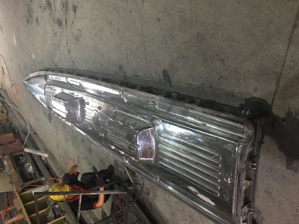 Kayak mold cast aluminium rotational mold