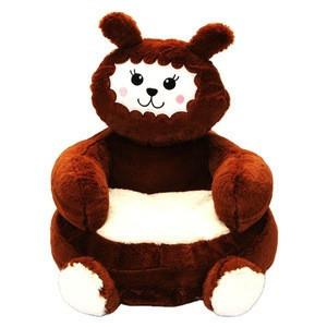 Kids Like Cartoon Lovely Stuffed kids Plush Animal Soft Alpaca Sofa Chair Bean bag