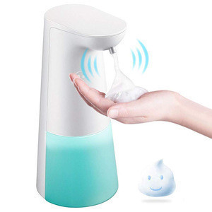 Luxury hotel automatic sensor touchless kitchen foaming soap dispenser plastic bathroom auto hand soap dispenser sensor 250ml