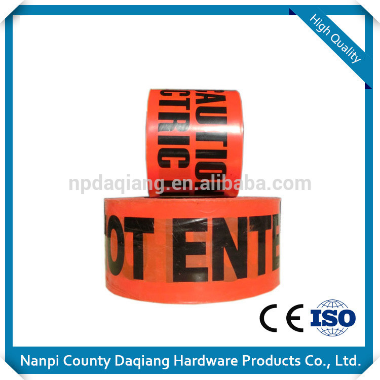 Manufacturer Top Quality On Sale tracer wire detectable underground warning tape