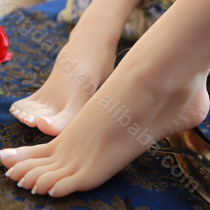 NEW display feet model TPE soft realistic sexy lifelike silicone female foot mannequin