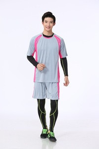 OEM promotional Kids & Mans soccer uniform