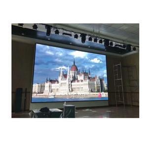 slim design die casting aluminum cabinet rental p5 module indoor SMD 2121 led advertising screen price