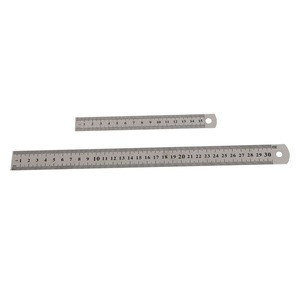 Steel ruler thicker Drafting Supplies hardware tools ruler double faced for office and school