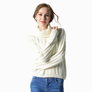 Sweater Dama Peruvian Alpaca Sweater