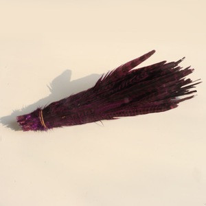Synthetic feathers pheasant feathers with factory price