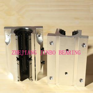 TBR SBR aluminum linear motion ball sliding bearing linear guide rail linear block bearing linear rail carriage bearings