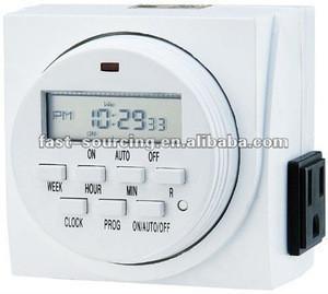 Time switch, UL/CUL digital weekly timer