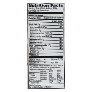 Way Better Snacks Tortilla Chips - Sweet Potato - Case Of 12 - 1 Oz.