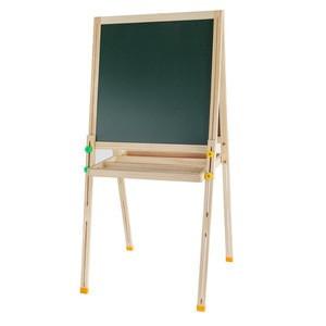 Wood Standing Kids Easels Art Easel, Blackboard and Whiteboard Large