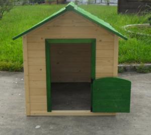 Wooden children playhouse