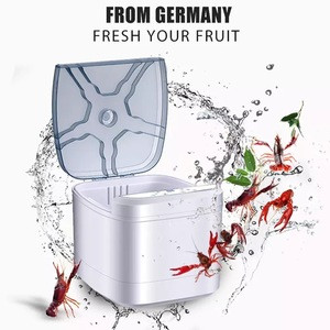 YZORA hot sale ultrasonic cleaner fruit and vegetable ozone washer food disinfecting sterilization equipment